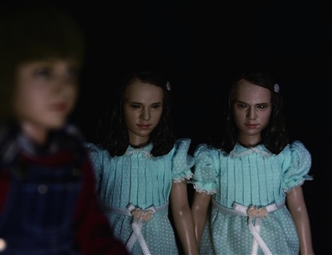 Danny Torrance and the Grady Twins figures by Rainman