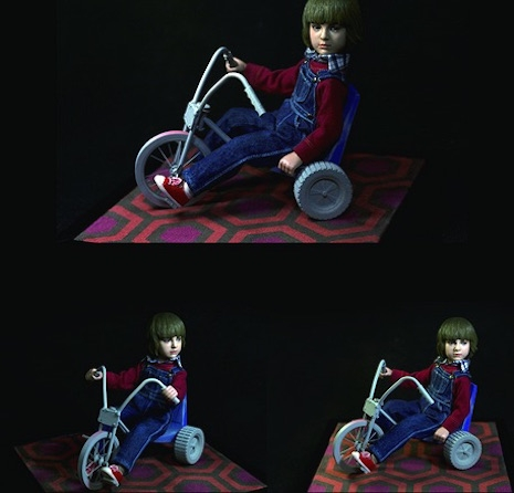 Danny Torrance and his bike figure by Rainman