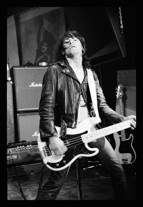 Dee Dee and his Fender Precision bass