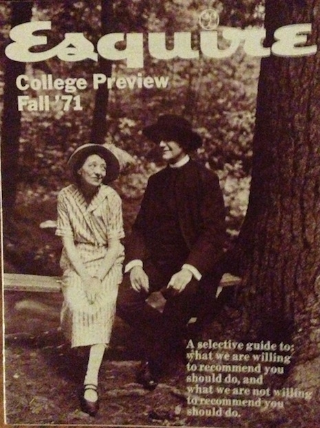 Esquire College Preview Fall '71