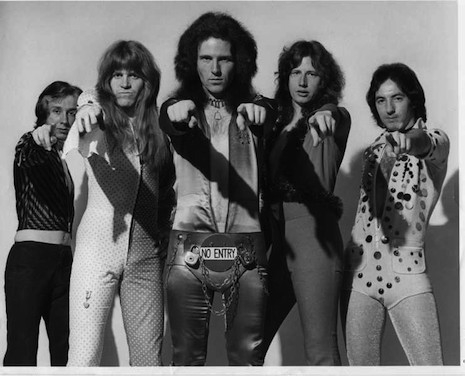 Iron Virgin, a Scottish glam band formed in 1972