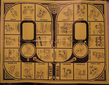 Sexism board game - 1971